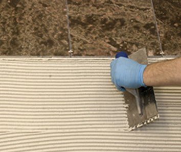 Tile, Grout & Mortars